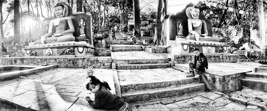 Temple aux singes.