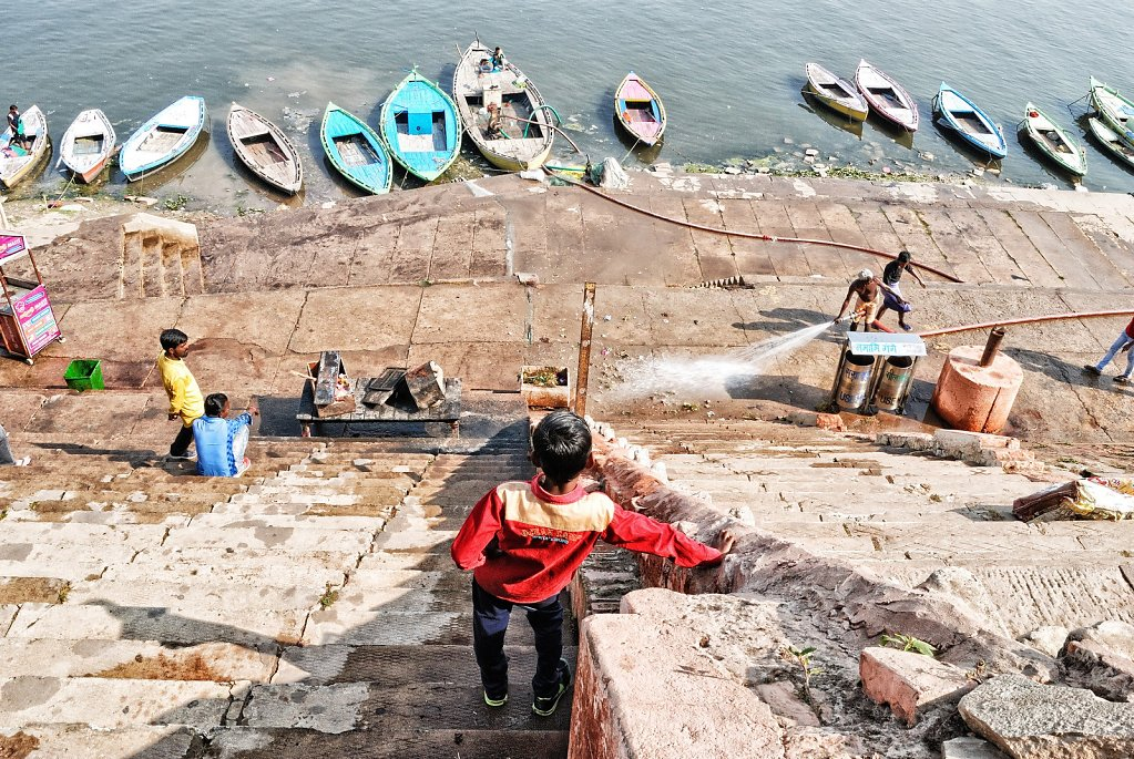 Nettoyage des Ghats